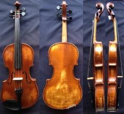 (SN:172 – S$1,850) 3/4 SIZE: Mathias Heinecke violin