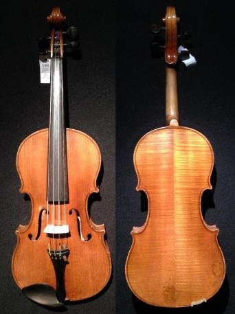 (SN:194 – A$1,499) Unlabeled Stradivarius copy, German made, 1930's