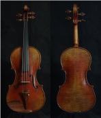 """SN:206 S$1890-Guarneri Del Gesu """"Cannon""""-1743-Russian Spruce"""