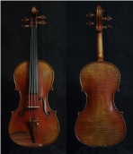 "SN:206 S$1890-Guarneri Del Gesu ""Cannon""-1743-Russian Spruce"