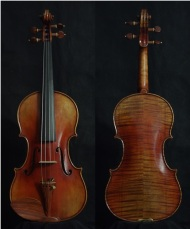 "SN:210 S$1890-Guarneri Del Gesu ""Cannon""-1743-Russian Spruce"