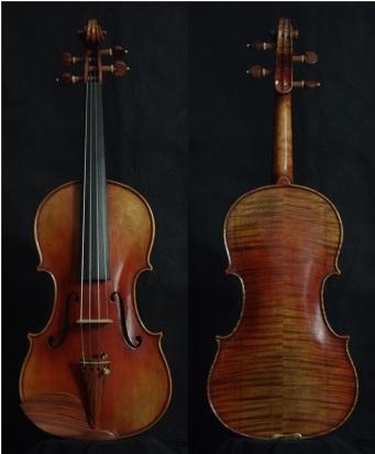 """SN:210 S$1890-Guarneri Del Gesu """"Cannon""""-1743-Russian Spruce"""