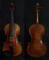 SN:215 S$1890-Nicolaus Amati-1670-Russian Spruce