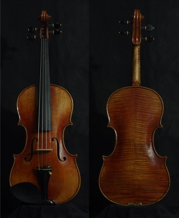 SN:215 A$1890-Nicolaus Amati-1670-Russian Spruce