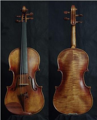 SN:218 A$1890-Guarneri Del Gesu-1730-Russian Spruce