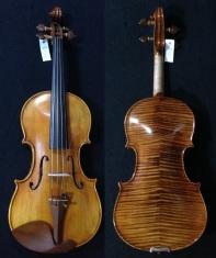 "(SN:223 S$1690) Copy of Guarneri Del Gesu ""Goldberg-Baron Vita"" Violin-1730"