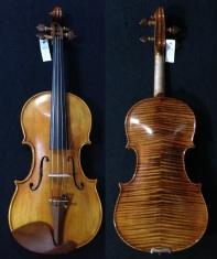 "(SN:223 S$1690) Copy of Guarneri Del Gesu ""Goldberg-Baron Vita"" Violin-1730"