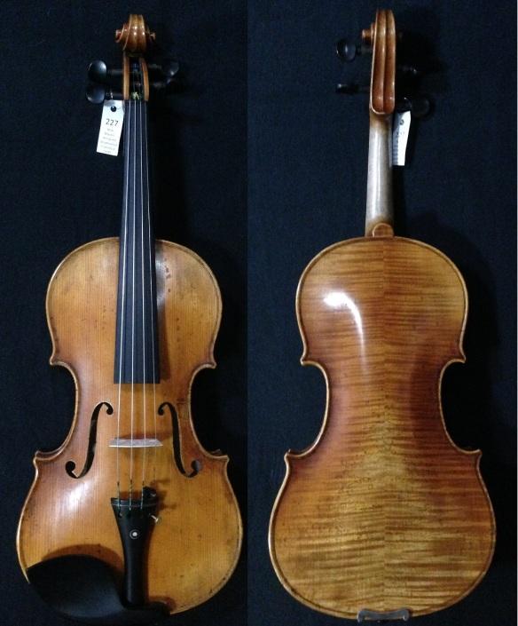SN:227 S$1690-Stradivarius Francesca-1694