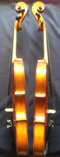 (SN:243 - S$2,290)-French Luthier Ramons Corbeille Stradivarius copy-made 1991